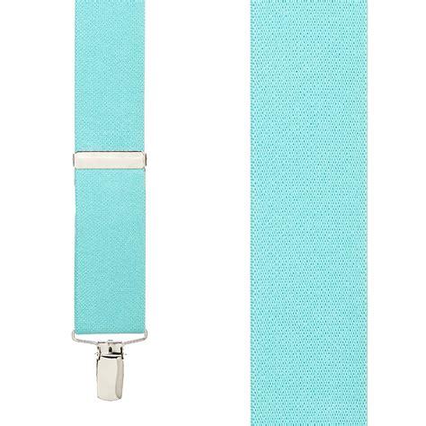 tiffany blue tiffany blue clip suspenders 1 5 inch wide suspenderstore