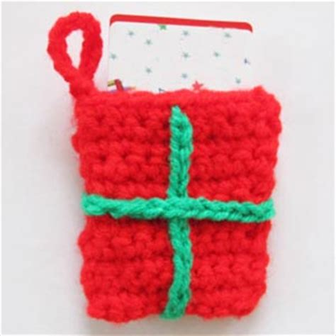pattern gift card holder quick knit and crochet gift card holders free patterns
