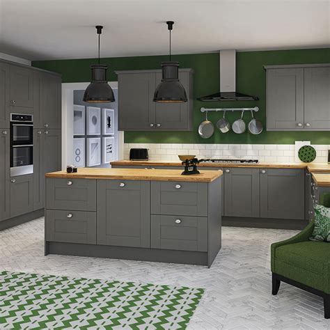 Newbury grey kitchen style amp range magnet trade