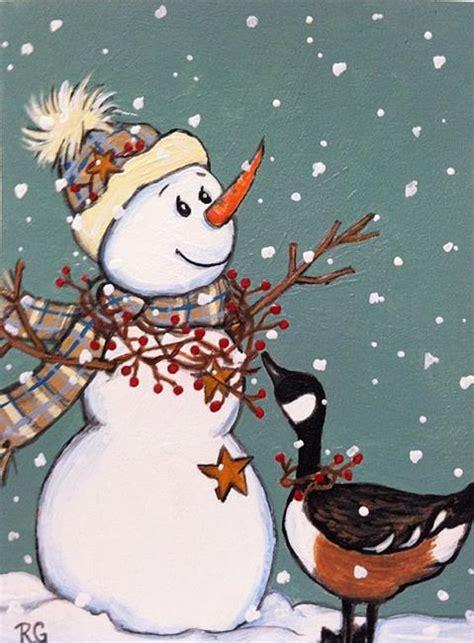 country snowman wallpaper wallpapersafari