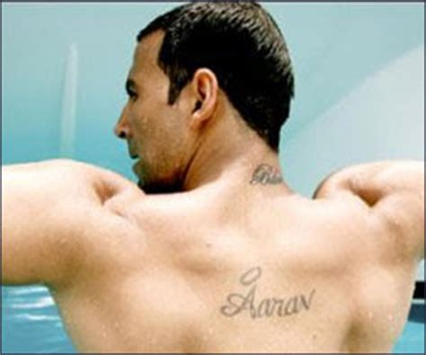 tattoo name akshay texas 2012 bollywood indian stars tattoos design new