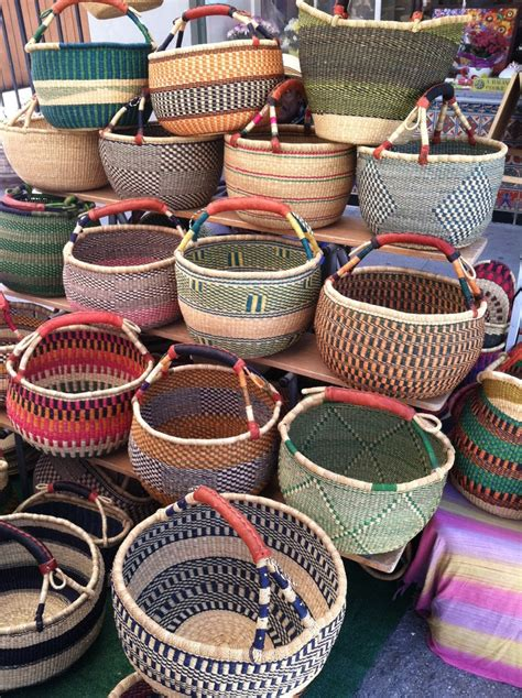 Handmade Baskets From Africa - pin by ayala on baskets