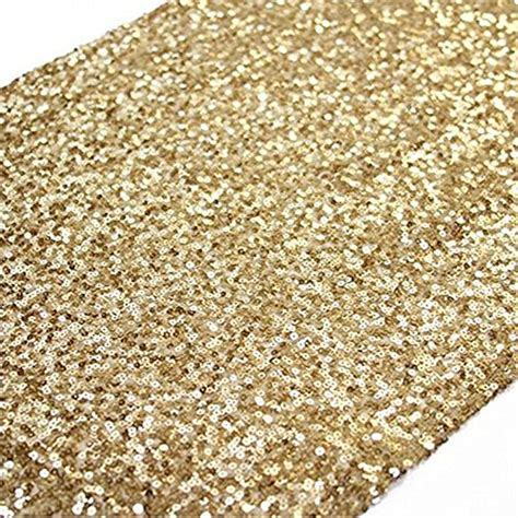 120 inch table runner trlyc 13 x 120 inch sparkly gold sequin table runner