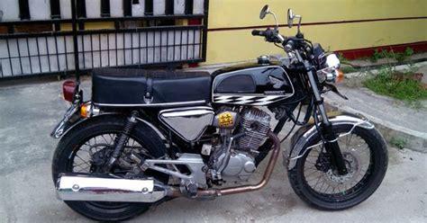 Knalpot Racing Cb150r Pelangi Cb 150r modif honda tiger 2000 keluaran tahun 2005 menjadi cb modifikasi motor
