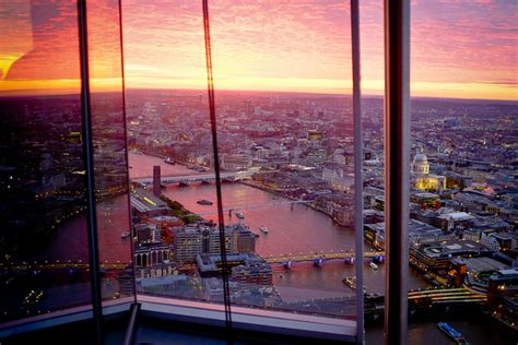bar at the top of the shard first restaurant in the shard to open londonist
