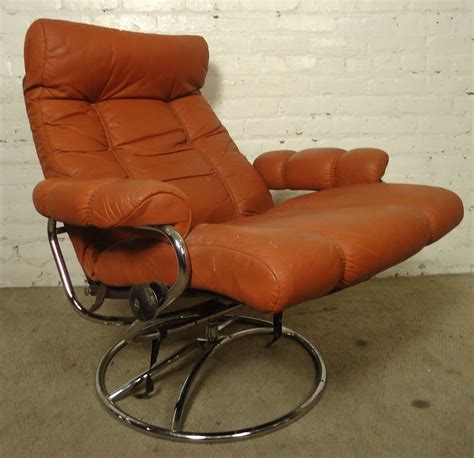 Ekornes Recliner Sale by Mid Century Reclining Chair And Ottoman By Ekornes