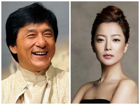 jackie chan kim hee sun movie kim hee sun and jackie chan to sing quot endless love quot for