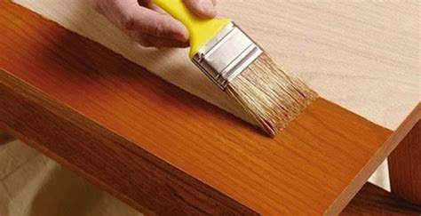 Best Way To Paint Kitchen Cabinets How To Stain Furniture Bob Vila
