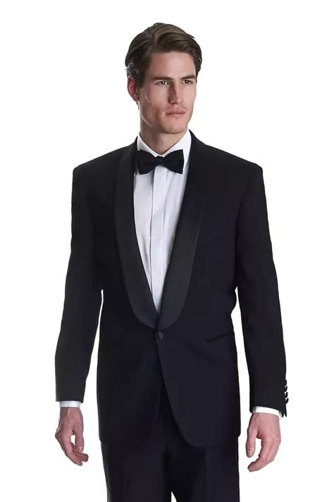 is a black suit as opposed to a tuxedo adequate for a