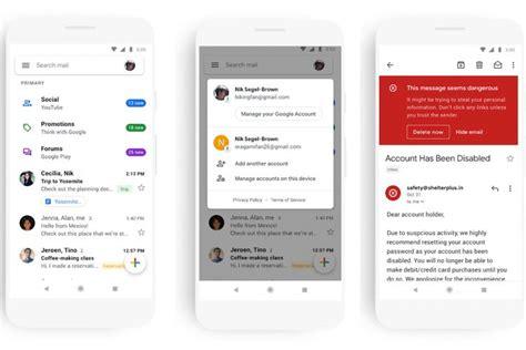 google hadirkan nuansa   tampilan gmail berita