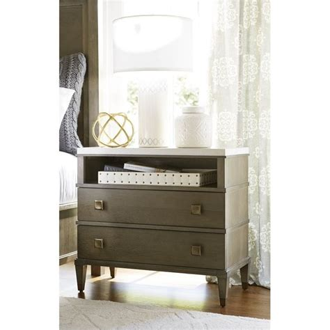 universal furniture playlist 58 round brown eyed girl universal furniture playlist 2 drawer nightstand in brown