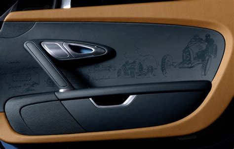 auto upholstery door panels photo bugatti s laser engraved door panels