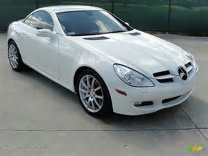 2006 Mercedes Slk350 2006 Mercedes Slk 350 Roadster In Alabaster White