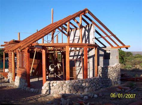 construccion casas de piedra arquitectura de casas caba 241 a de piedra y troncos en