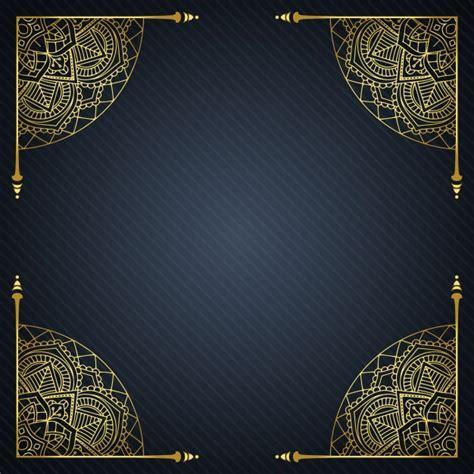 elegant batik wallpaper elegant background with decorative frame vector free