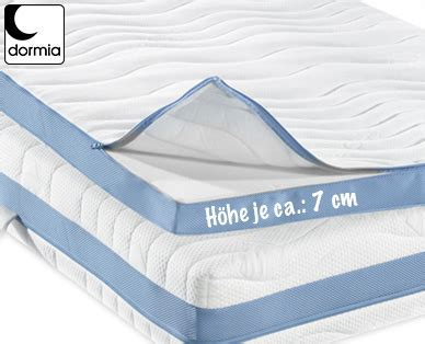 matratzen bei aldi süd dormia matratzen topper premium bei aldi s 252 d erh 228 ltlich
