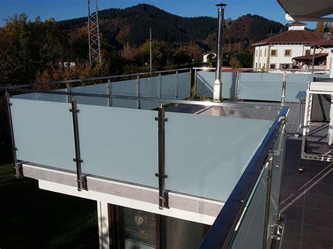 barandilla terraza barandilla de acero inoxidable y vidrio para terraza