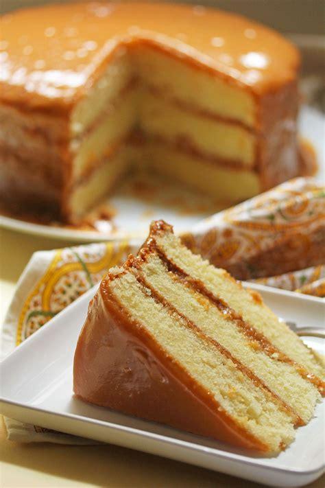 cake recipes real deal southern caramel cake recipe grandbaby cakes