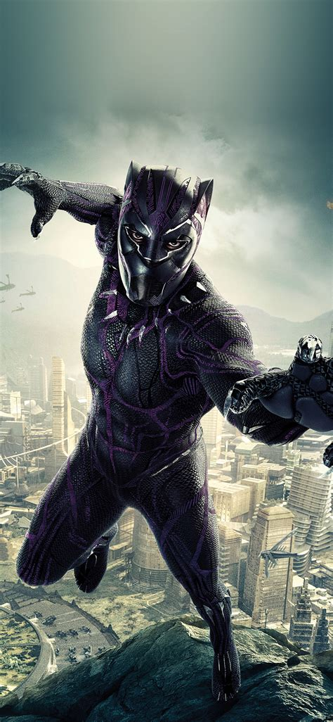 marvel film hero blackpanther art illustration wallpaper