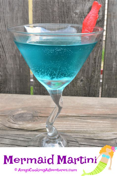 martini mermaid print recipe