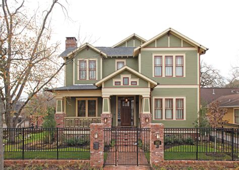 arts and crafts style homes arts and crafts style house houston lifestyles homes magazine an arts and crafts