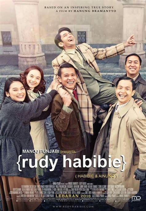 buku biografi habibie terbaik rudy habibie sobekan tiket bioskop