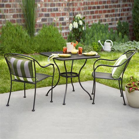 loews patio furniture furniture shop garden treasures vinehaven count steel stackable patio lowe s replacement patio