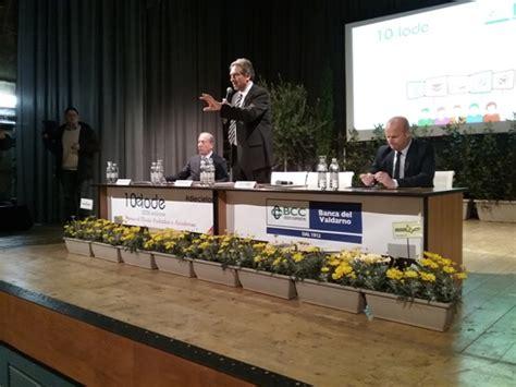 Banca Valdarno Montevarchi by Continua A Crescere Banca Valdarno Nel 2015 Utile A 1 5