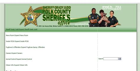 Polk County Records Search Free Inmate Arrest Record Check Search