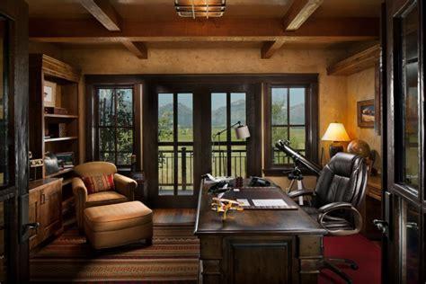 20  Rustic Home Office Designs, Decorating Ideas   Design