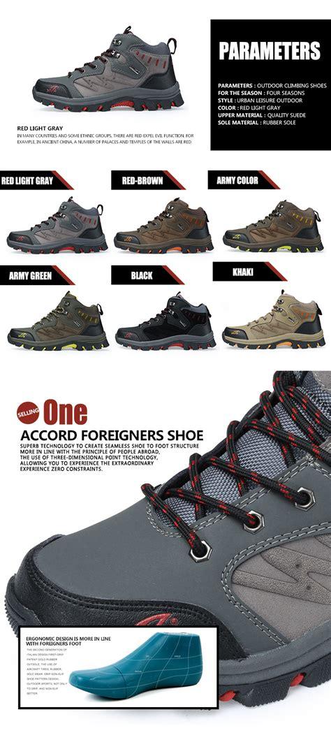 Hiking Shoes Snta 472 Sepatu Gunung Green Yellow jual baru sepatu gunung trekking hiking adventure snta