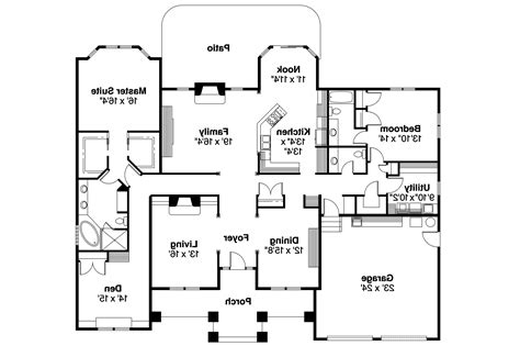 contemporary home floor plans contemporary house plans stansbury 30 500 associated designs