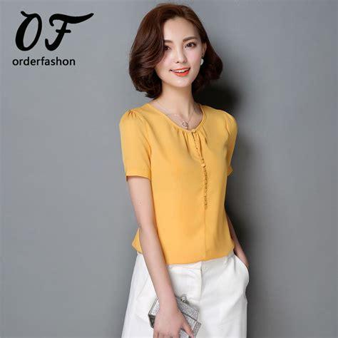 polos moda 2017 aliexpress com buy moda feminina blusa chiffon tops