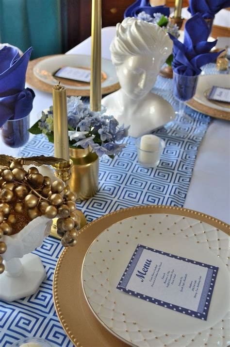 grecian themed wedding decor 1000 ideas about decorations on