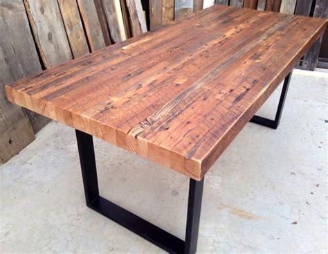 custom outdoor indoor exposed edge rustic industrial