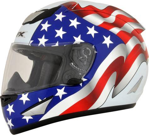 afx motocross helmet afx fx 95 full face motorcycle helmet flag graphics white