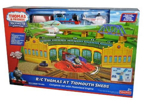 Tidmouth Sheds Trackmaster by Friends Trackmaster R C At Tidmouth Sheds