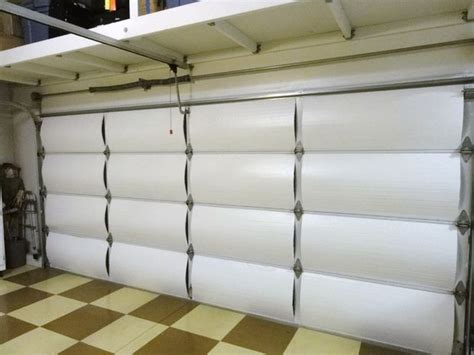 Insulating Garage Door With Styrofoam 3 Steps Most Effective Way To Insulate Your Garage Door To Reduce Heat Gain