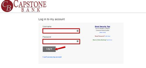 us bank login account capstone bank banking login cc bank