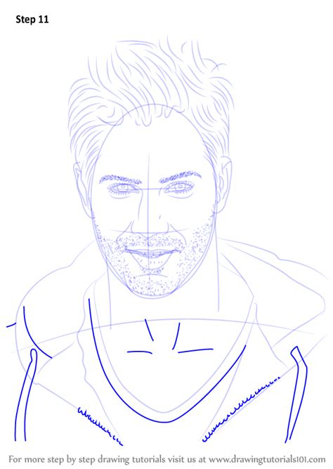 learn how to draw varun dhawan step by step drawing tutorials