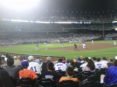 citi field section 110 the view from your seat mets vs pirates 5 31 11 amazin