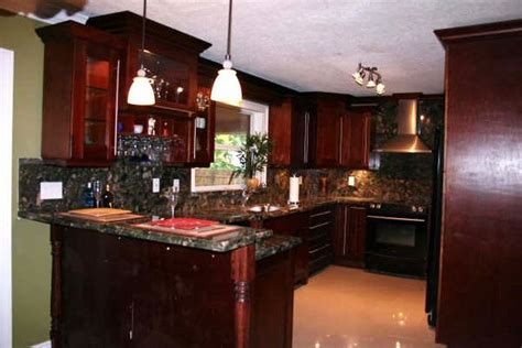 Red Oak Cabinets Kitchen by Cherry Shaker Wood Discount Kitchen Cabinets Florida 954