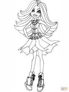 monster high spectra coloring pages spectra coloring page free printable coloring pages