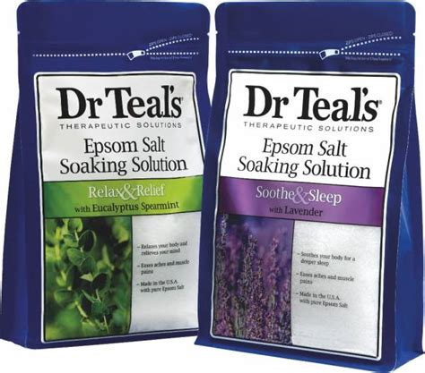Dr Teal S Epsom Salt Detox by Product Review Dr Teal S Epsom Salt Soaking Solution