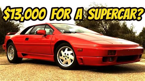 how to learn about cars 1989 lotus esprit seat position control the lotus esprit is the last affordable exotic car youtube