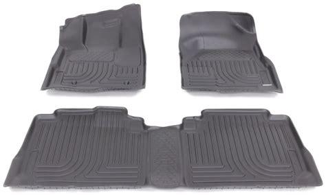 2013 gmc terrain husky liners weatherbeater custom auto floor liners front and rear black
