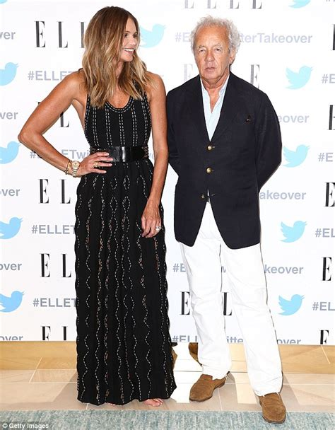 by gilles bensimon elle macpherson elle macpherson displays a wide smile as she poses for