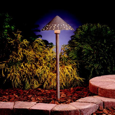 Outdoor Led Path Lights Llenita Led Path Light Landscape Lighting Specialist Led Path Light In Anchor Bronze Finish