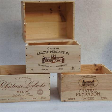 Fabriquer Meuble Caisse Vin by Caisse De Vin Vide Pour Fabriquer Des Meubles
