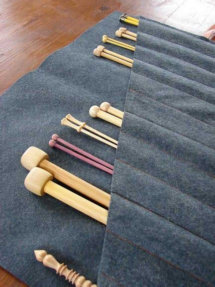 tunisian knitting needles knitting needle holder but could also work for tunisian